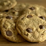Fudgy Coffee Flour Chocolate Chip Cookies