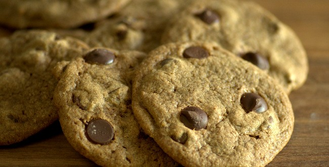Fudgy Coffee Flour Chocolate Chip Cookies