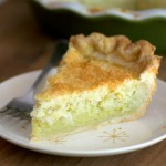 Triple Coconut Custard Pie