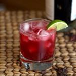 Jamaica-Infused Tequila Margaritas