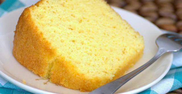 Passion Fruit Chiffon Cake