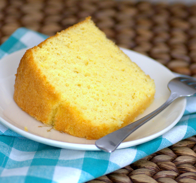 Passion Fruit Chiffon Cake