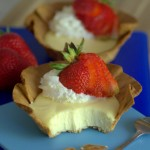 Waffle Cone Cheesecake Cups