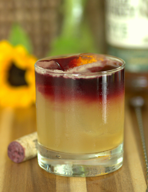 How to Make a New York Sour