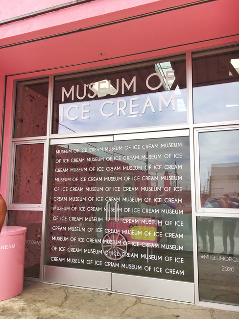 Doors to the Ice Cream Museum