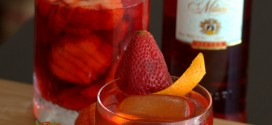 Strawberry Negroni with Strawberry-Infused Campari