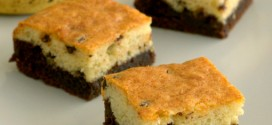 Black Bottom Banana Cake Bars