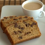 Coffee Chocolate Chip Banana Bread