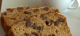 Coffee Chocolate Chip Banana Bread