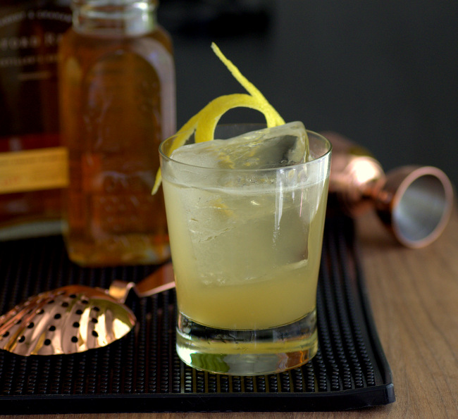 How to Make a Goldrush Cocktail