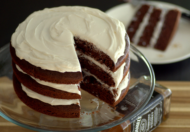 Jack Daniel's Whiskey Chocolate Cake