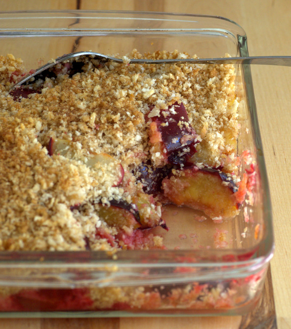 Summer Plum Brown Betty