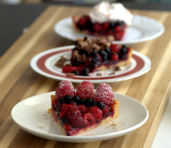 Baking Bites for Craftsy: Gorgeous Ways to Finish off a Tart