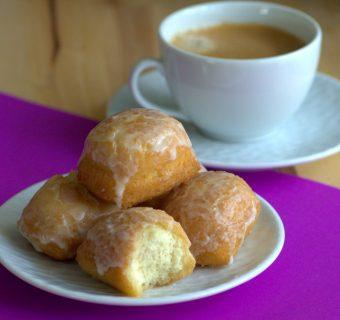 Mini Buttermilk Bar Donuts