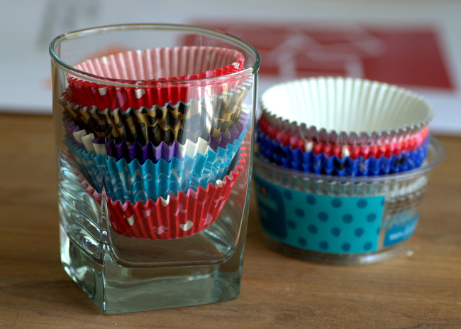 How to Store Cupcake Wrappers