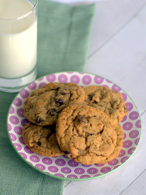 Chocolate Chip Cookies made with Coconut Sugar