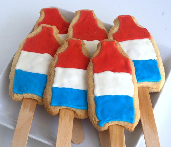Rocket Pop Cookies