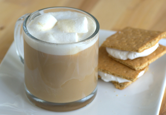 How to Make a S'mores Latte