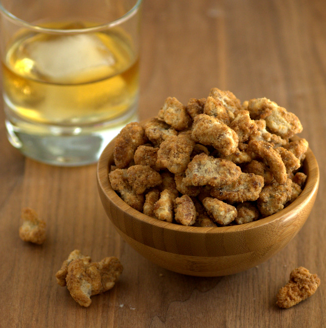 Whiskey Spiced Walnuts