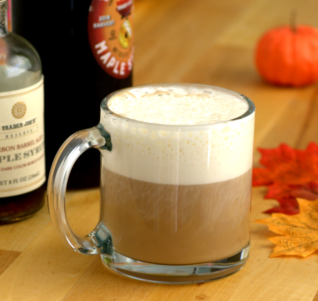 Maple Earl Grey Tea Latte