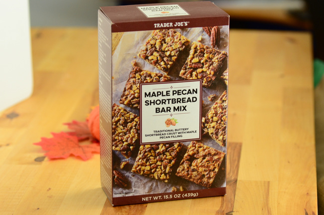 Trader Joe's Maple Pecan Shortbread Bar Mix, reviewed