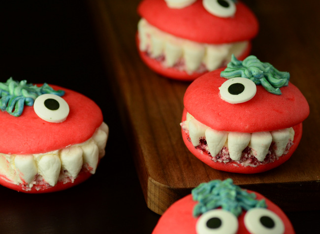 Halloween Monster Whoopie Pies