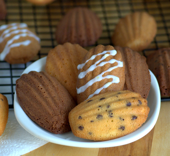 Baking Bites for Craftsy: Madeleines