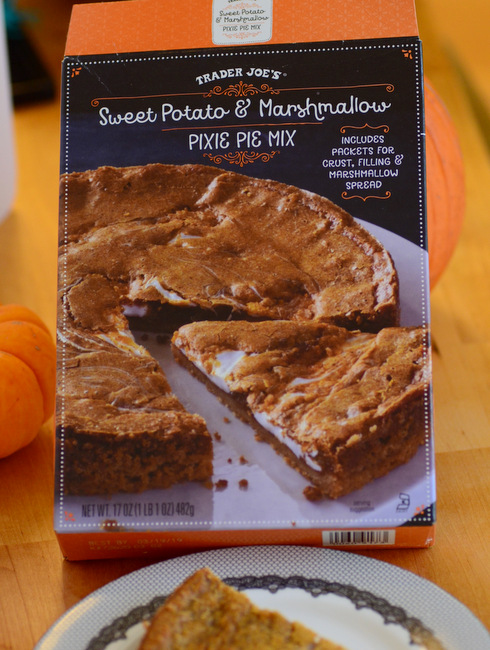 Trader Joe's Sweet Potato & Marshmallows Pixie Pie Mix, reviewed