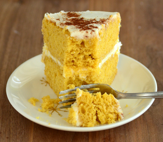 Spiced Butternut Squash Layer Cake