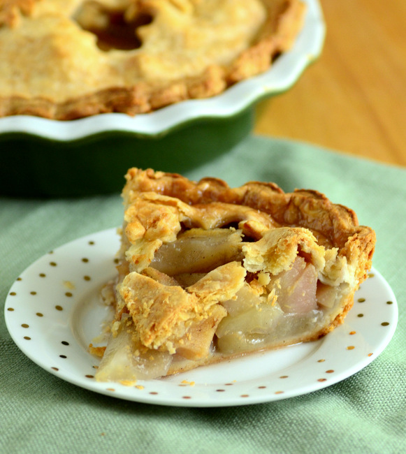Double Crust Pear Pie