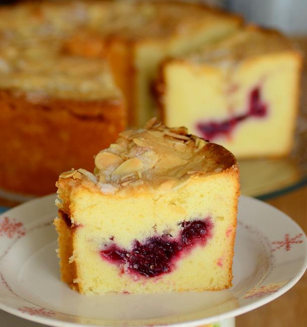 Cranberry Sauce-Swirled Bundt Cake