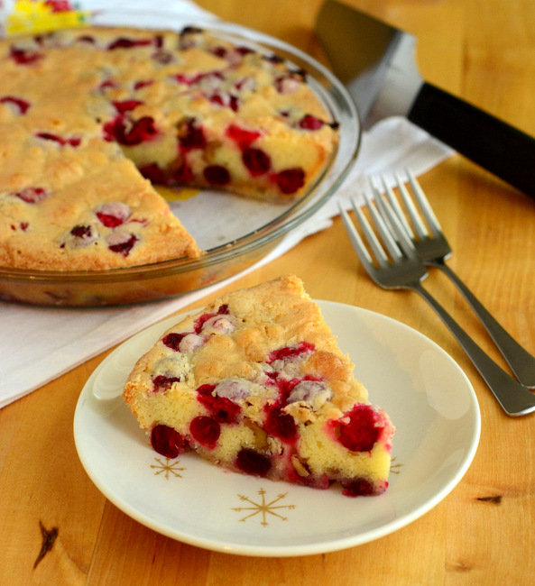 Nantucket Cranberry Orange Pie