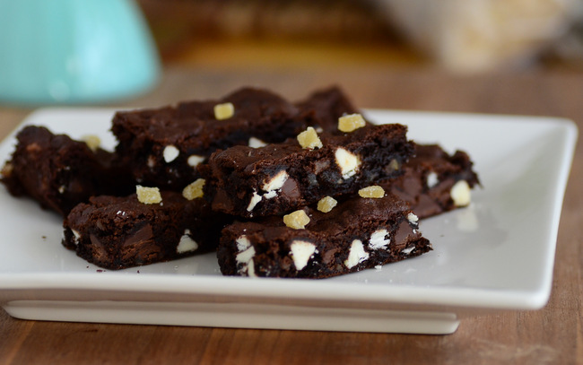 Double Chocolate Ginger Bar Cookies