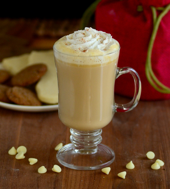 How to Make a Caramelized White Chocolate Mocha