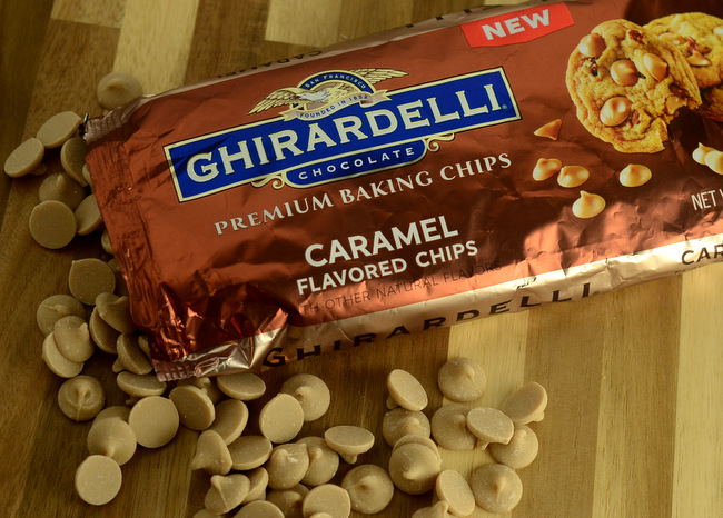 Ghirardelli Caramel Flavored Baking Chips, reviewed