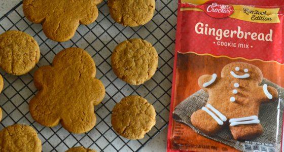 Betty Crocker Gingerbread Cookie Mix, reviewed