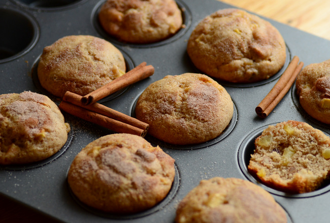 Apple Cinnamon Pecan Muffins