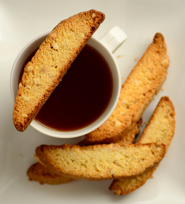 Coconut Almond Biscotti