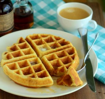 One-Bowl Vanilla Waffles