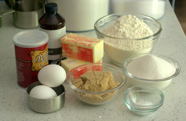Common Baking Ingredients