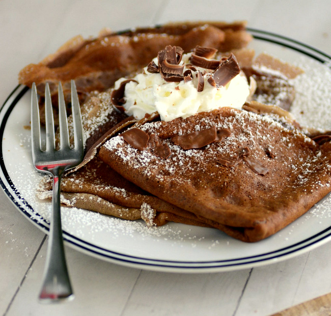 How to Make Chocolate Crepes