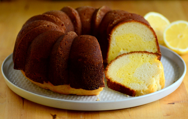 Lemon Swirl Bundt Cake