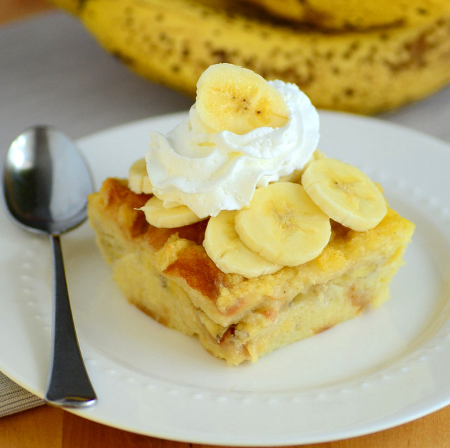 Banana Pudding Bread Pudding
