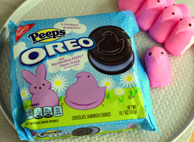 Peeps Oreos, reviewed