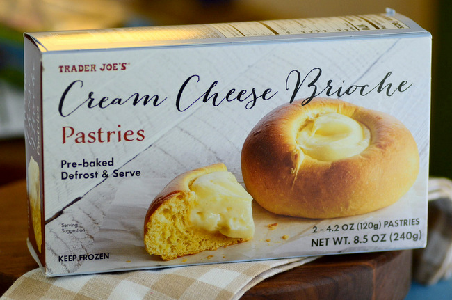 Trader Joe's Cream Cheese Brioche Pastries, reviewed