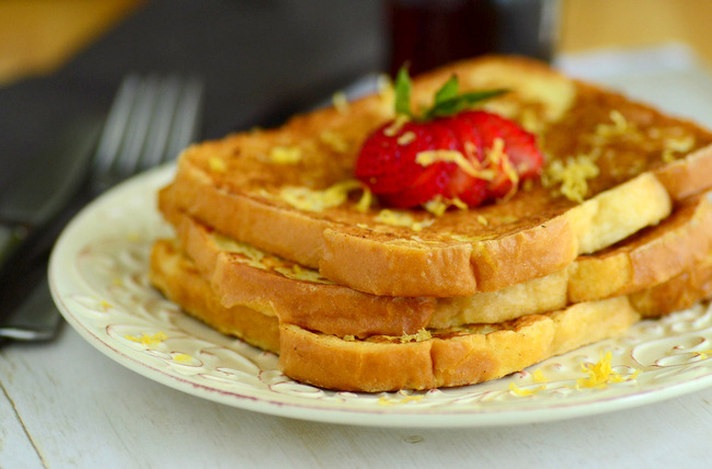 Lemon Vanilla French Toast