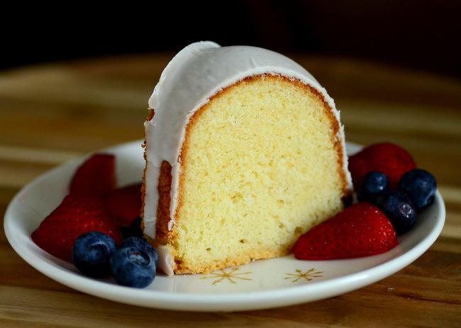 Whipping Cream Pound Cake