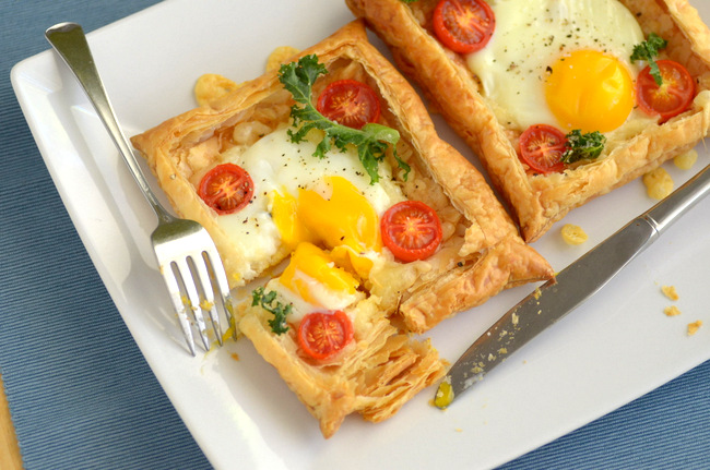 Baking Bites for Craftsy: Easy Brunch Egg Tarts