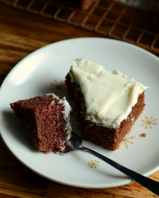 Chocolate Rum Sheet Cake