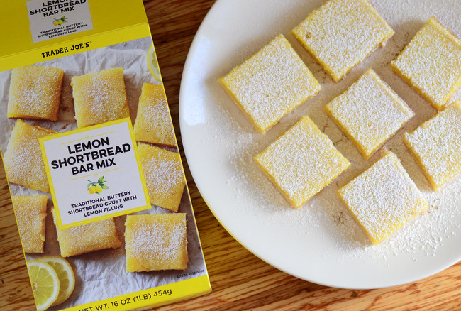Trader Joe's Lemon Shortbread Bar Mix, reviewed